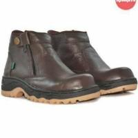 sepatu pria kickers byson safety (ujung berung) brown
