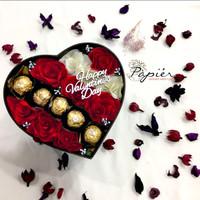 Coklat Valentine / Bunga Valentine / ferrero rocher/ kado unik