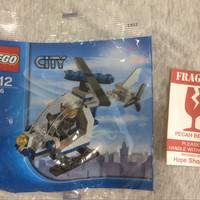 LEGO seri City 30226 - Police Helicopter Polybag series rare edition