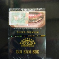 Rokok Dji Sam Soe Djisamsoe Super Premium 12 Ji Sam Su Refill Ecer