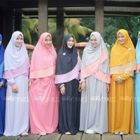 Hijab Saira Set | HijabSallyHeart | Gamis Set