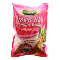 """Beras Coklat (Brown Rice) Organik Pandan Wangi """"Hotel"""" 2kg"""