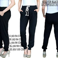 Soliver jogger- bahan cotton polyester