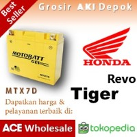 harga Aki Tiger Revo, Honda, MOTOBATT, MTX7D, MOTOBAT, aki MOTOR, BATERAI Tokopedia.com