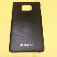 Backdoor Casing Belakang Back Cover Samsung Galaxy SII S2 I9100 Hitam