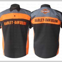 harga Baju Kemeja Motorsports Harley Davidson #16 Size: XL Kode: BKD019 Tokopedia.com