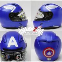 Helm HJC CL-17 Marvel Edition Captain America Full Face