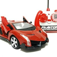 MAINAN REMOTE CONTROL RC SPEED LEGEND LAMBORGHINI BUKA PINTU