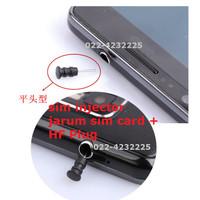 JARUM SIM CARD TUTUP HF INJECTOR IPHONE IPAD SAMSUNG MICRO NANO 800210