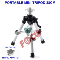 Portable Mini Tripod 28cm untuk Laser Level Total Station Survey