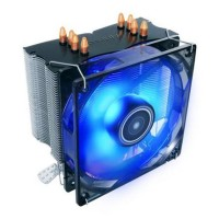 Antec C400 120mm Blue LED CPU Cooler Quad Heatpipe