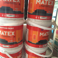 PLAMIR TEMBOK MATEX / GALON 4 kg / wall putty matex nippon paint .