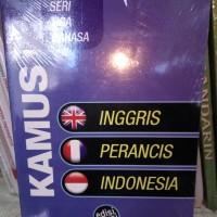 Kamus seri tiga bahasa Inggris perancis indonesia