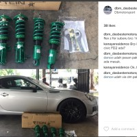 Coilover Tein Jepang Type Flex Z Toyota FT 86 '12 >