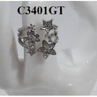 harga Cincin warna silver (gelang kalung anting xuping emas berlian) Tokopedia.com