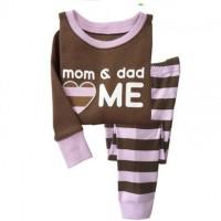 Baju tidur anak perempuan/Piyama anak GAP Hongkong Mom n Dad Love Me
