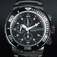 Seiko Quartz SNDA13P1 Chronograph Divers 200M | Jam Pria SNDA13