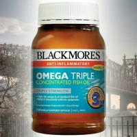 Jual Blackmores anti inflammatory omega triple concentrated fish oil 150kap Murah