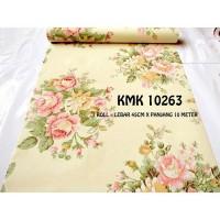Wallpaper Sticker Dinding Murah, Vintage KMK 10263