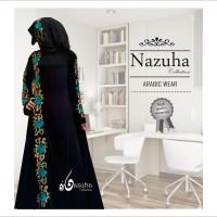 harga SALE!!! Na 419 | Baju gamis pesta flower biru-set hijab-gaun remaja Tokopedia.com