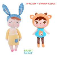 METOO Angela Yellow + METOO Panda BlueFox