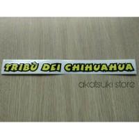 sticker / stiker tribu dei chihuahua helm rossi