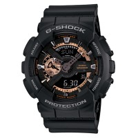 G-Shock Casio ORIGINAL GA-110RG-1ADR Jam Tangan Pria - Rubber - Hitam