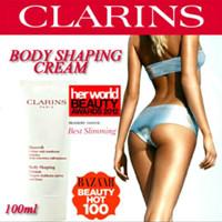 CLARINS BODY SHAPING CREAM / KRIM SLIMMING PERUT & LEMAK BERLEBIH