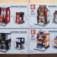Mini City Series SD6046-6049 - Sembo Block - Lego compatible