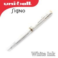 Uni-ball Signo Broad UM-153 Gel Pen - White Ink Pen