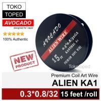 Harga authentic avocado alien kanthal a1 wire mod rda rta rdta vapor | Hargalu.com