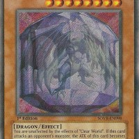 Kartu Yugioh Clear Vice Dragon [Secret Rare]