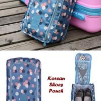 Korean Shoes Pouch (Tas untuk tempat sepatu & sandal)