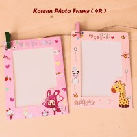 Korean Photo Frame (4R) Bingkai foto gantung,dilengkapi tali & jepitan
