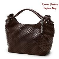 Korean Fashion Impress Bag COFFEE (Tas fashion Korean style)