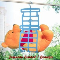 Jemuran Bantal / Boneka (Bisa untuk jemuran bantal besar & boneka)