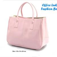 Office Lady Fashion Bag SOFTPINK (Tas fashion yg paling diminati bagi