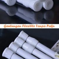 Gantungan Flexible TANPA PAKU size 102cm dapat dipanjangkan hingga 190