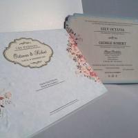 Undangan Pernikahan Elegant Single Hardcover Melly's Collection