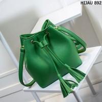 Tas Kulit Fashion Import Wanita MD 892 Hijau
