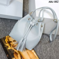 Tas Kulit Fashion Import Wanita MD 892 Abu