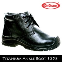 Jual Sepatu Safety Shoes Dr OSHA Titanium Ankle Boot 3258 Murah