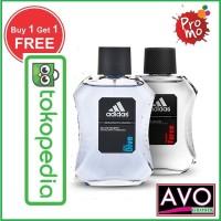 Parfum Original Adidas Pria EDT 100 ML (Promo Buy 1 Get 1)