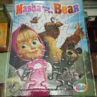 Puzzle / Puzle / Pazel Masha and The Bear - belajar mengasah otak anak