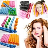 Jual Magic Leverag Instant Curly Pengikal rambut Keriting hair roll salon Murah