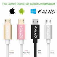 KALNO FAST CHARGING CABLE - MICRO USB DATA & CHARGING