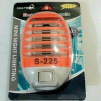 Perangkap Nyamuk SUNPRO S-225 + Lampu Tidur 2 In 1