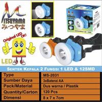 Senter Kepala Led MITSUYAMA MS-2031 Head Lamp