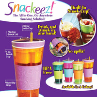 Jual Snackeez As Seen On Tv tempat minum dan snack Murah