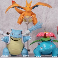 Figure Pokemon Figure Charizard Figure Blastoise Figure Venusaur Luffy
